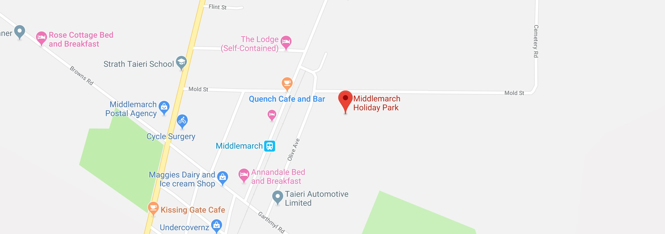 Welcome to Middlemarch Holiday Park - Middlemarch Holiday Park