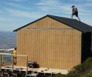 Leaning Lodge Hut